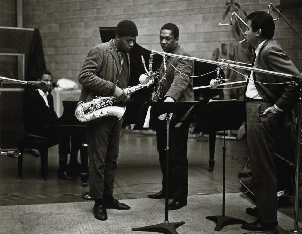 Coltrane in the studio