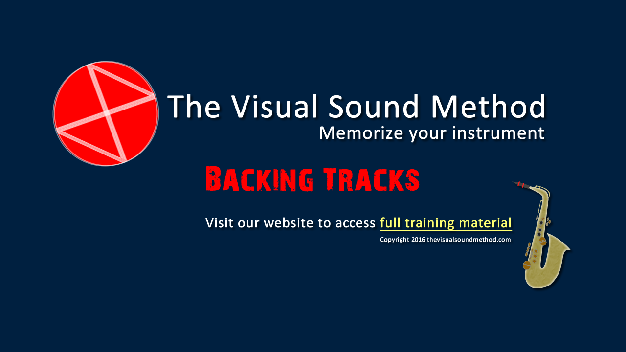 Backing Tracks The Visual Sound Method
