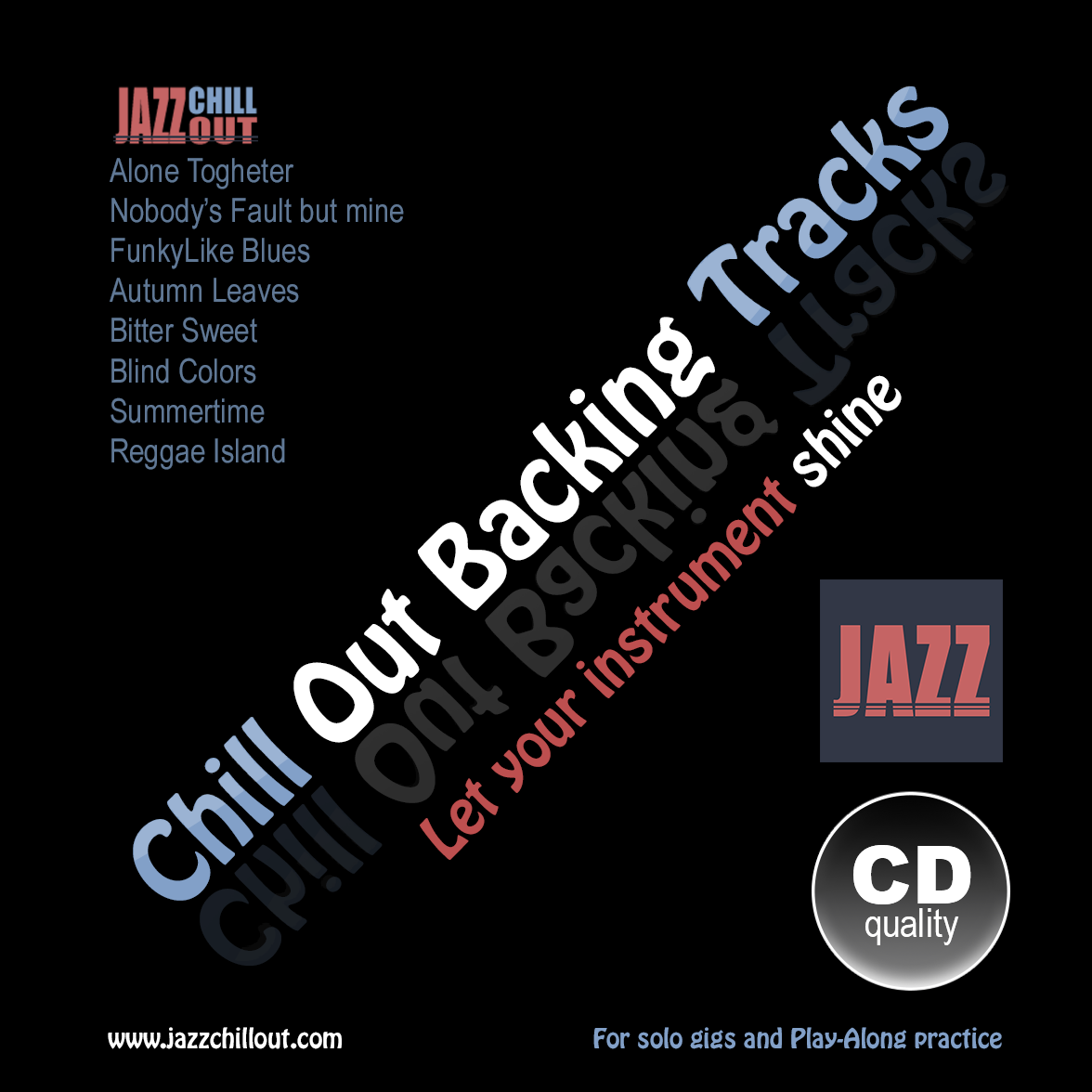 Chillout Backing Tracks to improvise